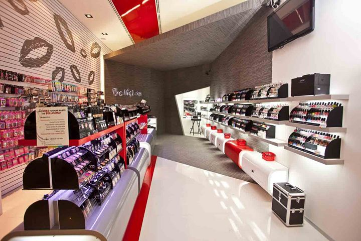 Bell sima beauty shop by arquitectos interiores - Arquitecto de interiores ...