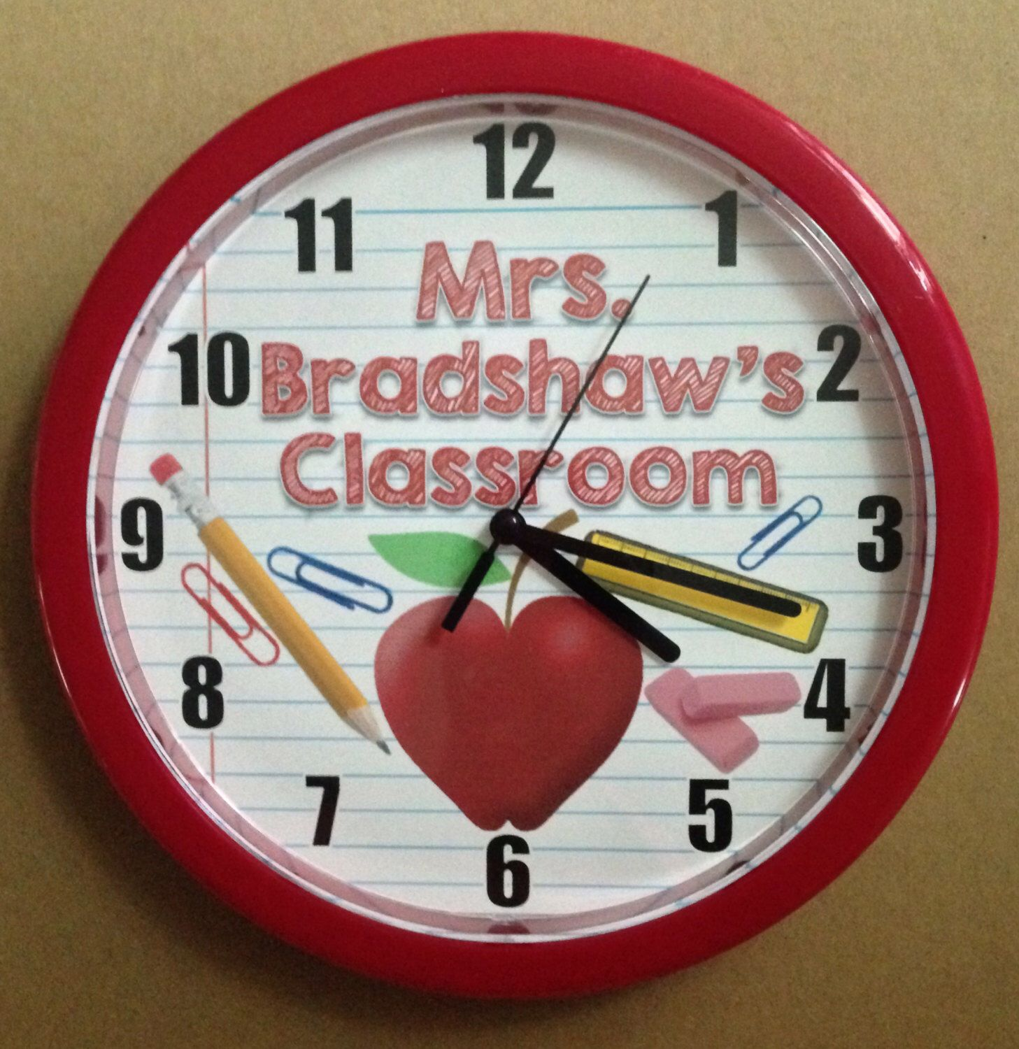 A personal favorite from my etsy shop httpsetsylisting a personal favorite from my etsy shop httpsetsy wall clocksclassroom amipublicfo Images