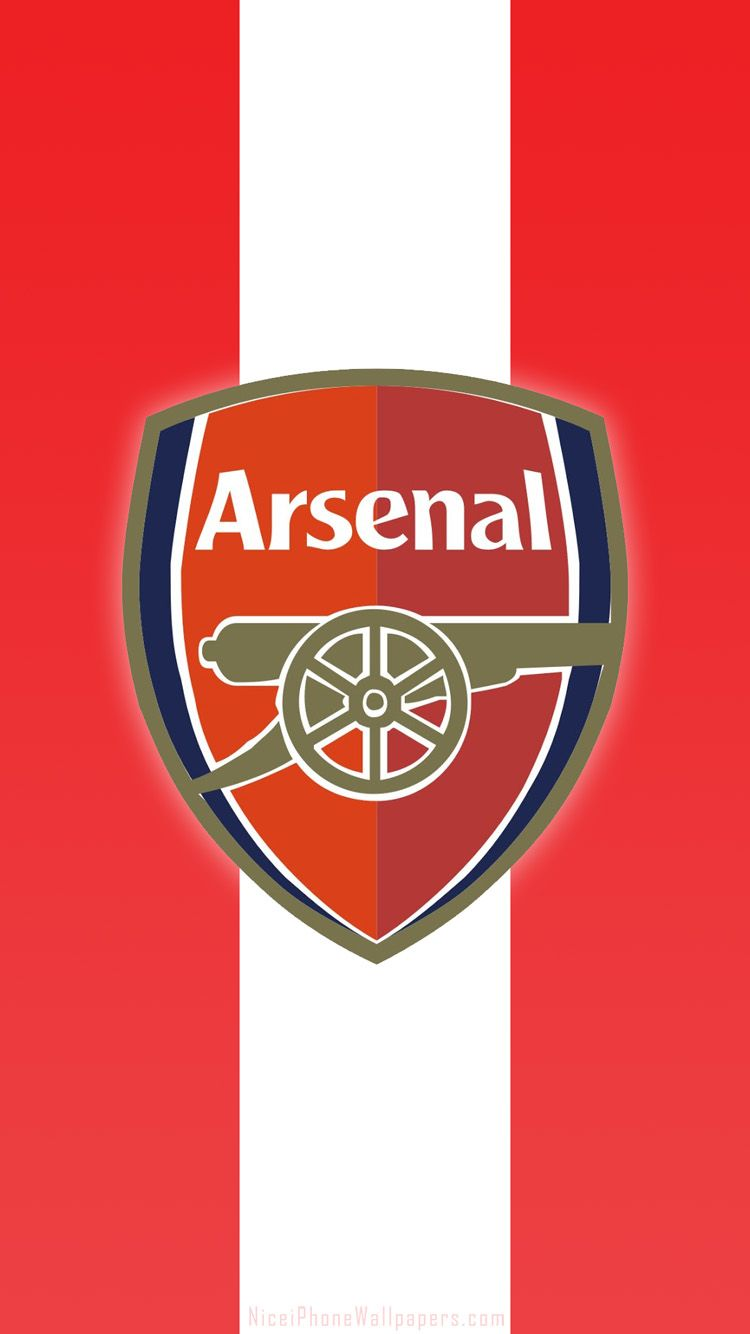 Arsenal Iphone Wallpaper Wallpapersafari Arsenal Fc Logo