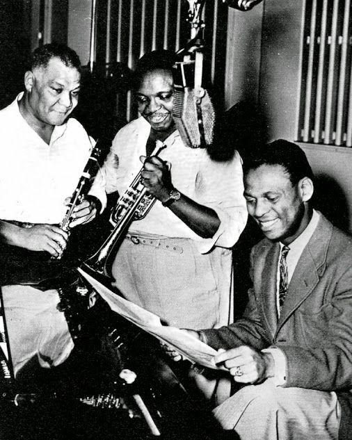 Sidney Bechet, Rex Stewart, Earl Hines