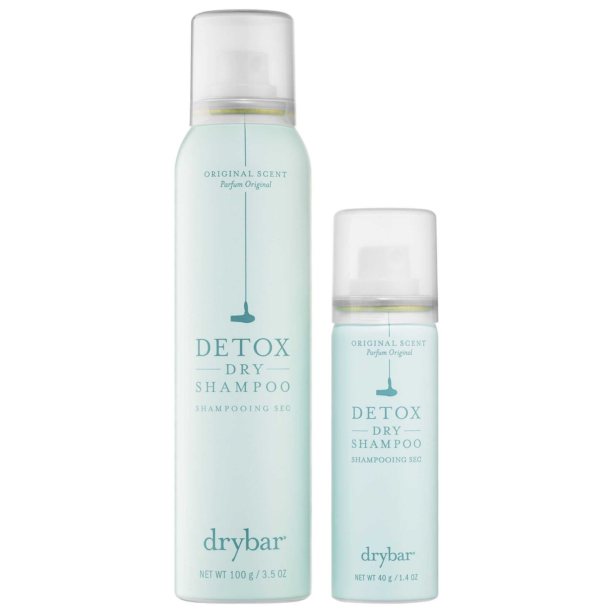Double Dose Of Detox Dry Shampoo Drybar Sephora Dry Shampoo Travel Size Products Sephora