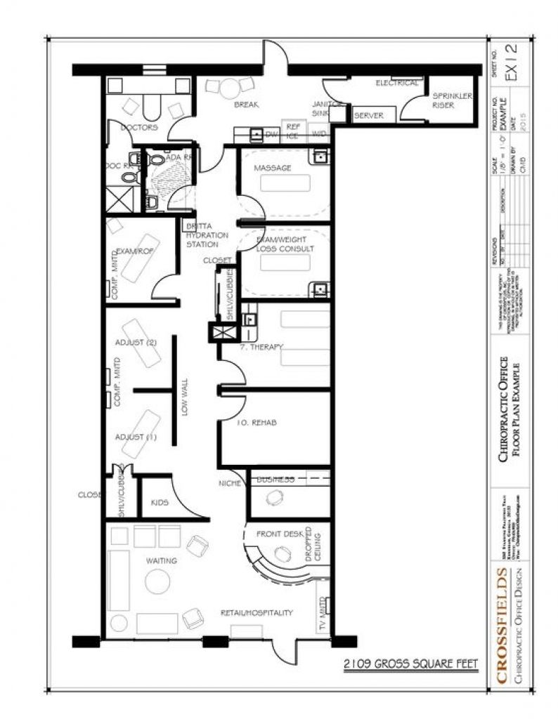 Chiropractic Office Design Layout 1000 Images About Chiropractic Floor Plans On Pinterest Best Images Office Floor Plan Floor Plan Design Massage Room Design