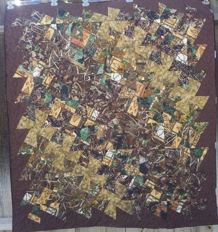 Quilt in a Day - Miriam's Camo Quilt - Quilting Photos - Community ... : camouflage quilt - Adamdwight.com