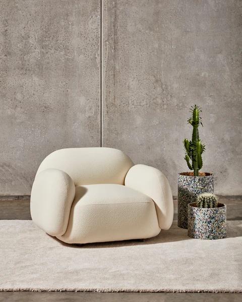 (1) Sundae Armchair, Lounge & Ottoman by Jason Ju – DesignByThem
