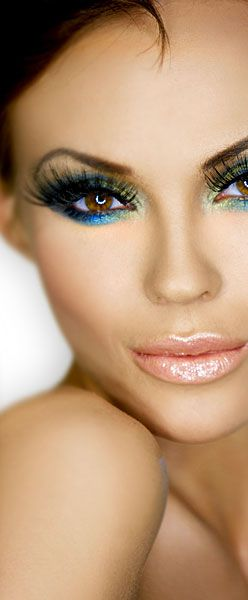 Oh, girl! Those lashes! But don't fret, you can have them