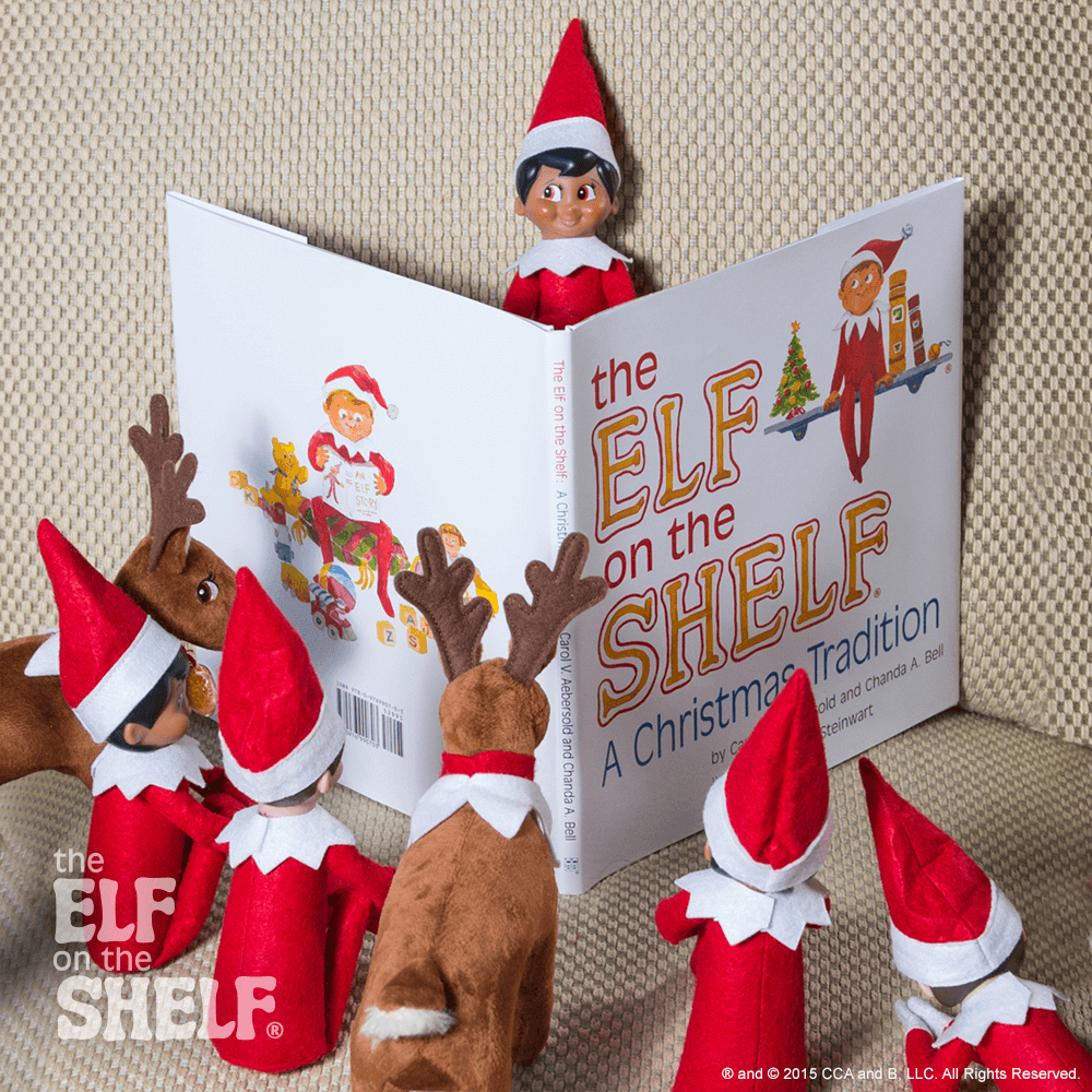 Gather Round This Scout Elf Is Reading His Favorite Story To His