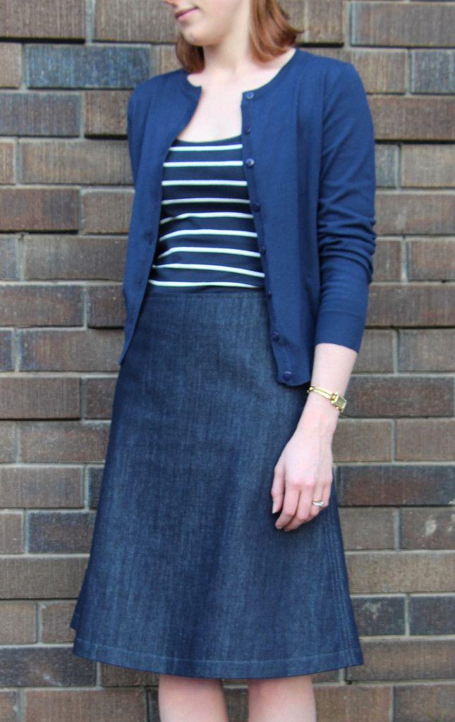 Libby A-Line Skirt Pattern | Pinterest | Rund ums Nähen, Nähideen ...