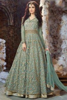 dd22dda4f0ea20 Blue Color Heavy Embroidery work Net Fabric Traditional Look Wedding Wear Indian  Bride Anarkali #zoya #anarkali #salwarkameez #salwarsuits #suits ...