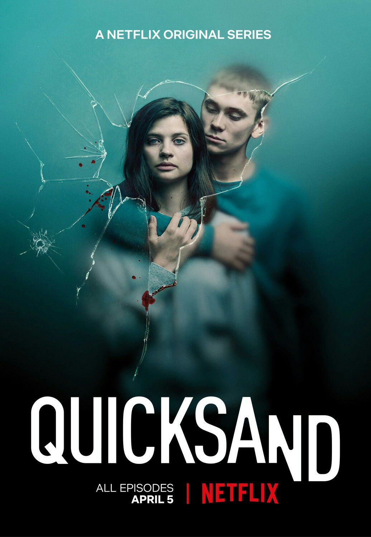 New poster for the swedish suspense series QUICKSAND  #quicksand