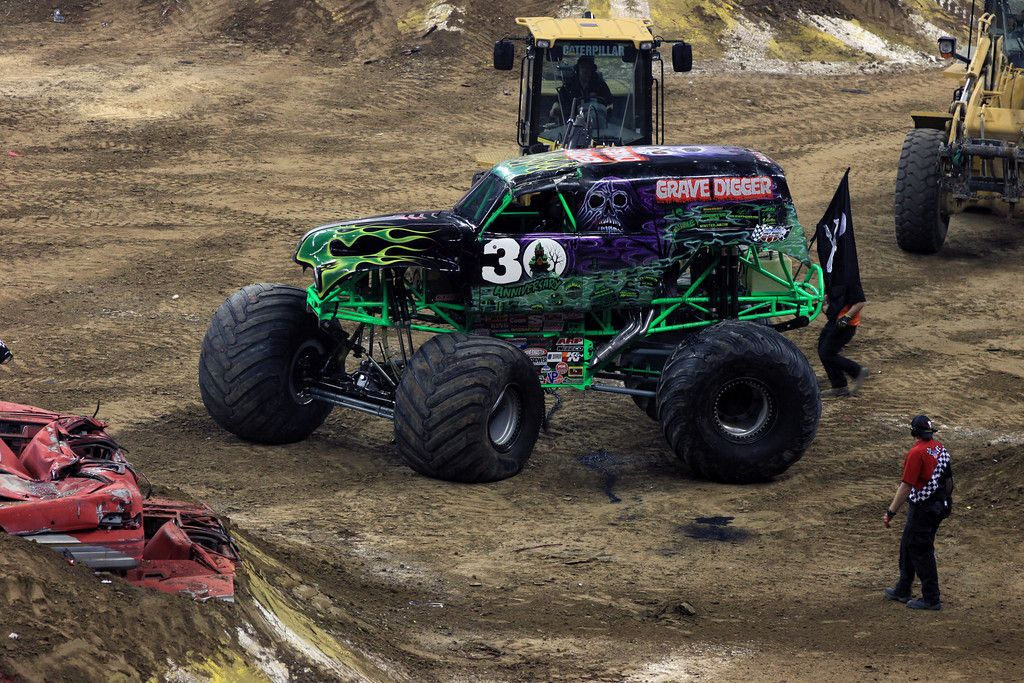 Grave Digger - Houston 1/12
