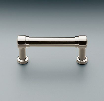 I Like This Style Pull Grafton Pull Restoration Hardware Restoration Hardware Kitchen Polished Nickel Kitchen Pulls
