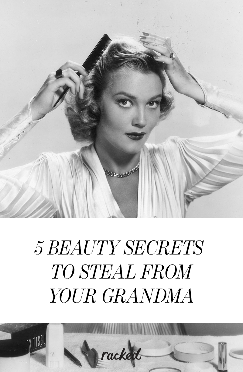 The best beauty secrets to steal from your grandma, plus a how-to