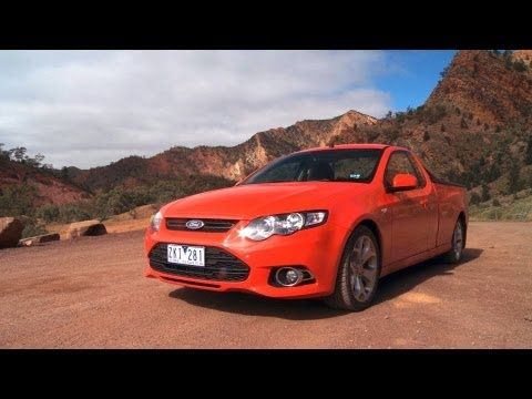 Westbound Down Under Ford Falcon Xr6 Ute Attacks The Outback Epi Ford Falcon Ford Ute