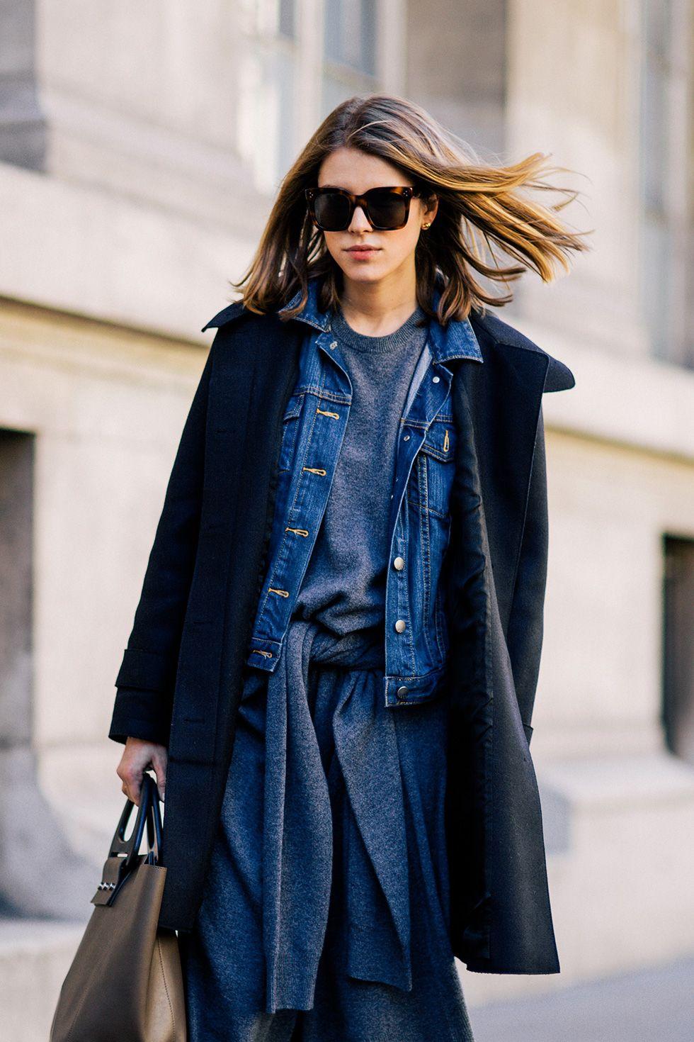 ideas para looks casuales y estilosos con denim paris minimal