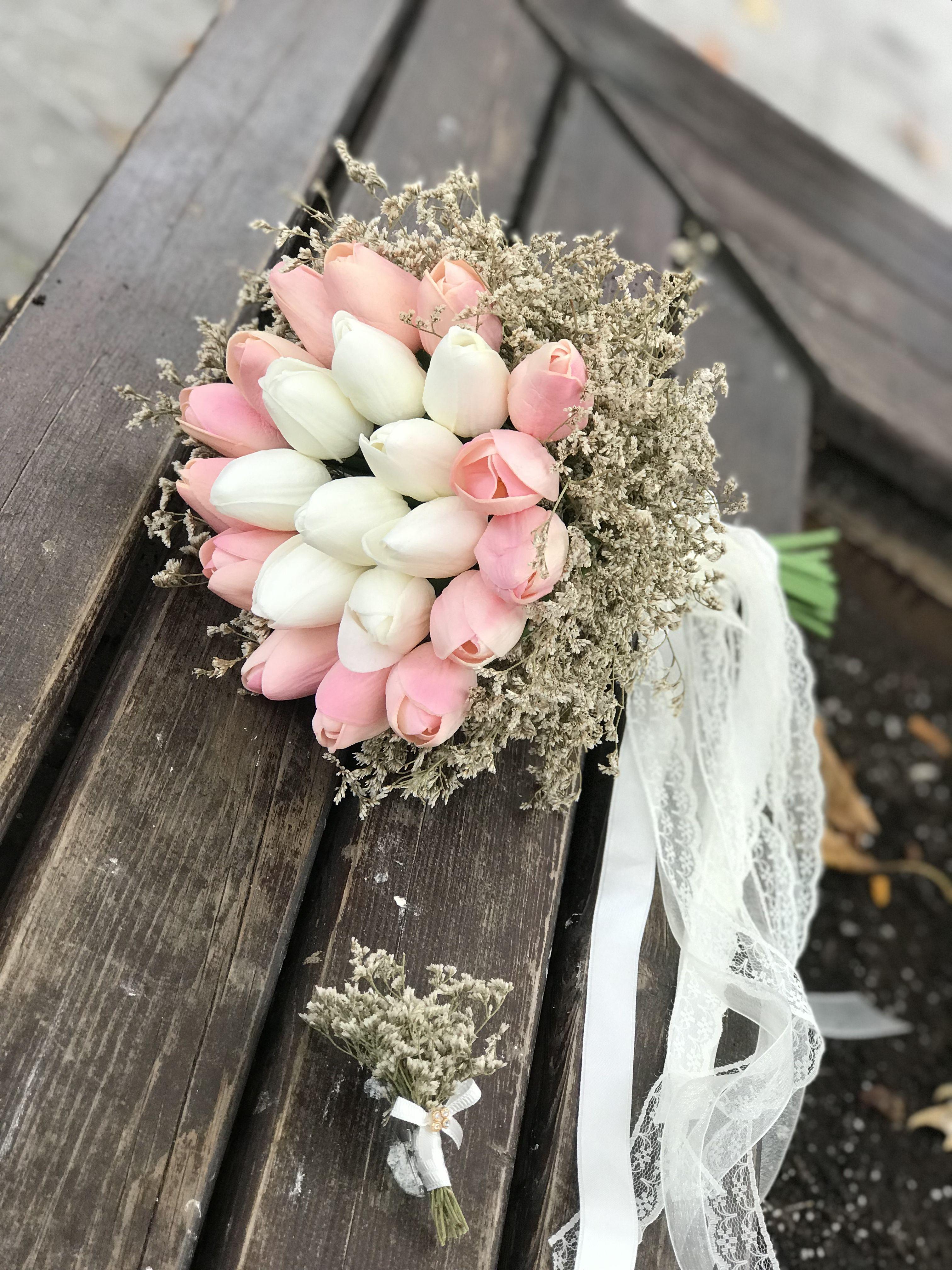 #lalebuketi #ıslaklale #gelinbuketi #gelinçiçeği #nişanbuketi #nişançiçeği