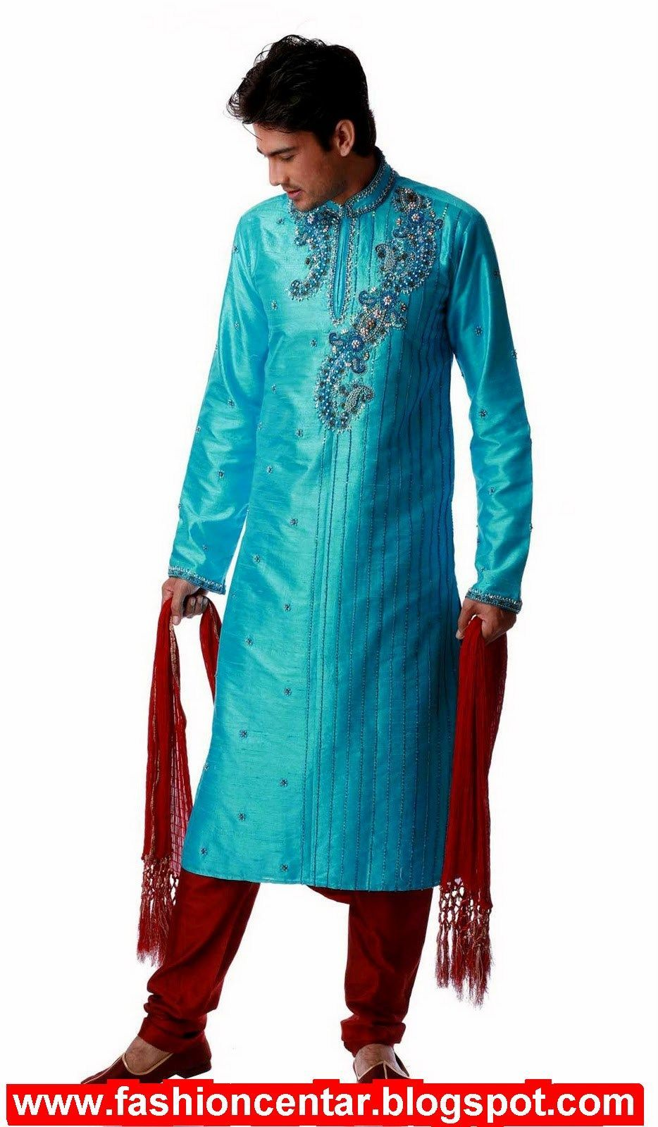 Kurta Pajama for Men-18 Men\'s Kurta Pajama Styles for Wedding ...