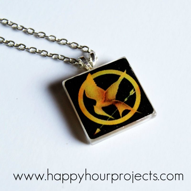 Tile Necklace tutorial - change out for any image
