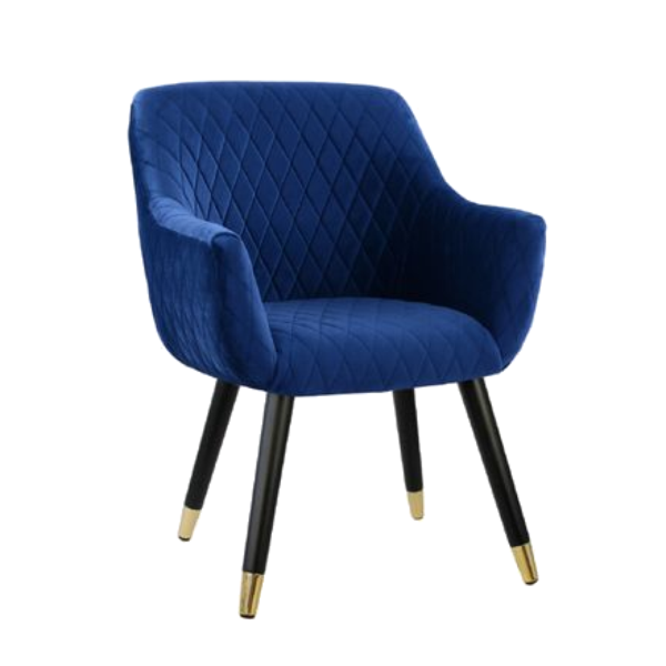 Magnificent Townhouse Quilted Velvet Chair Royal Blue In 2019 Modern Pdpeps Interior Chair Design Pdpepsorg