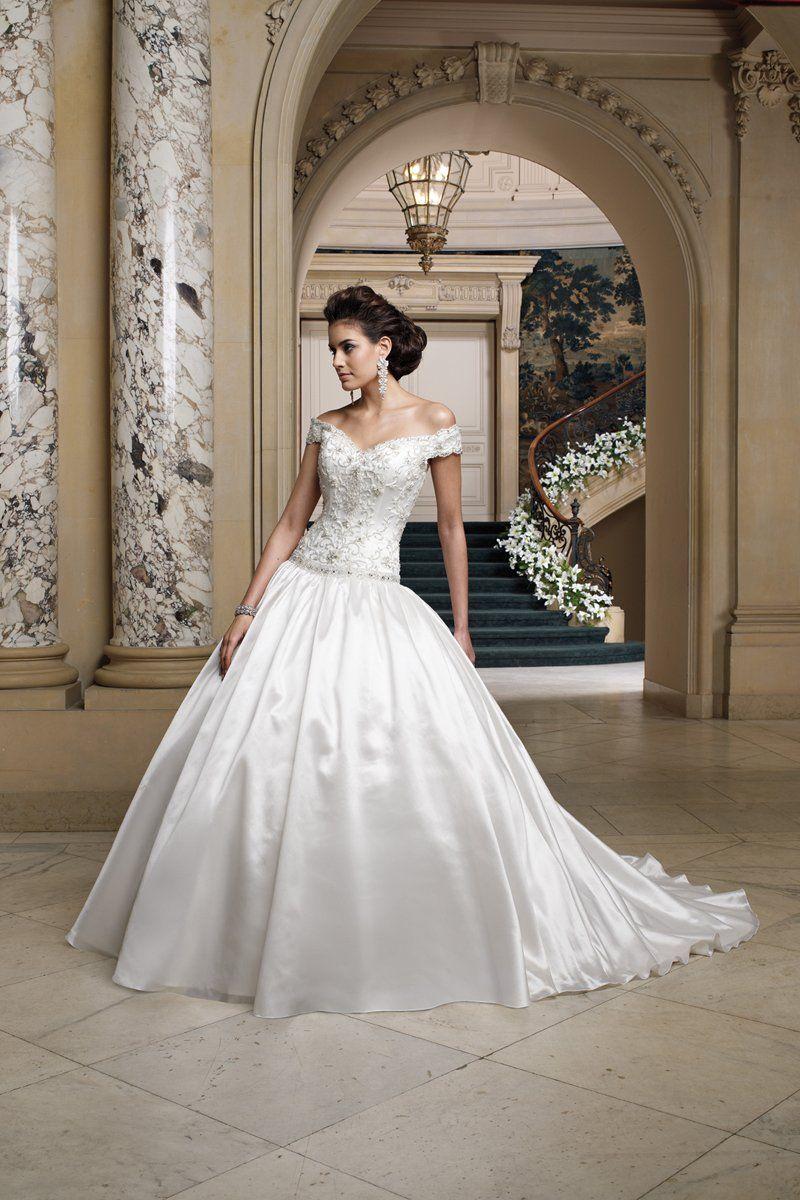 Lis simon more wedding dresses photos david tutera and dress