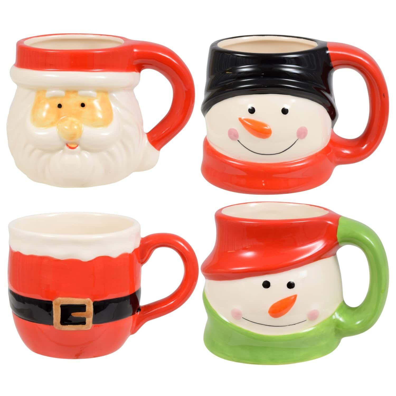 Dolomite Christmas Character Mugs, 15 oz | Christmas mugs ...