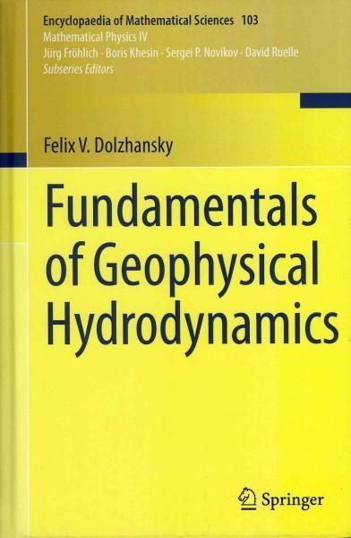 Fundamentals of Geophysical Hydrodynamics (Hardcover)