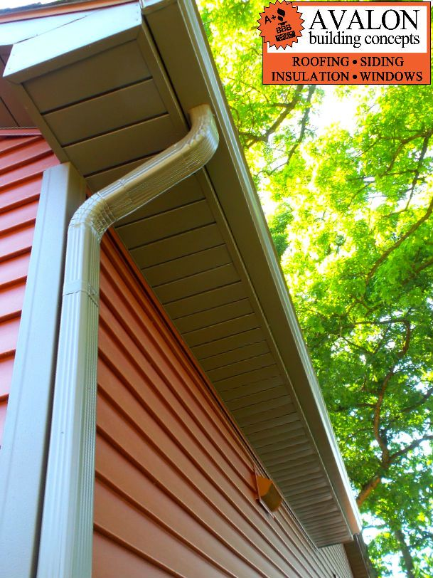 New Siding And Gutters In Shelbyville Avalon Is A Grand Rapids Gaf