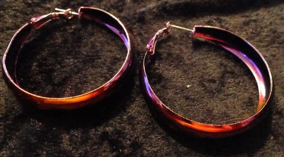 HOOP PIERCED EARRINGS and FREE GIFT! $4.99