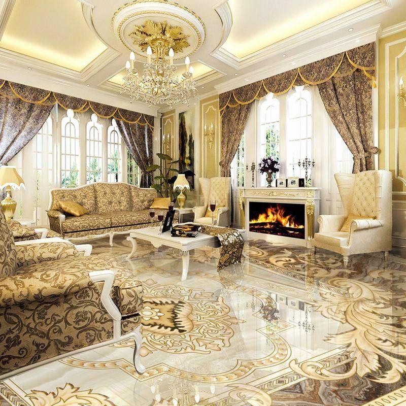 Floor Tiles Designs for Living Room in 2020 Floor tile