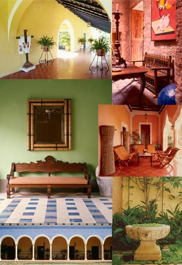 Hacienda style our books mexican design books mexican for Mexican style architecture