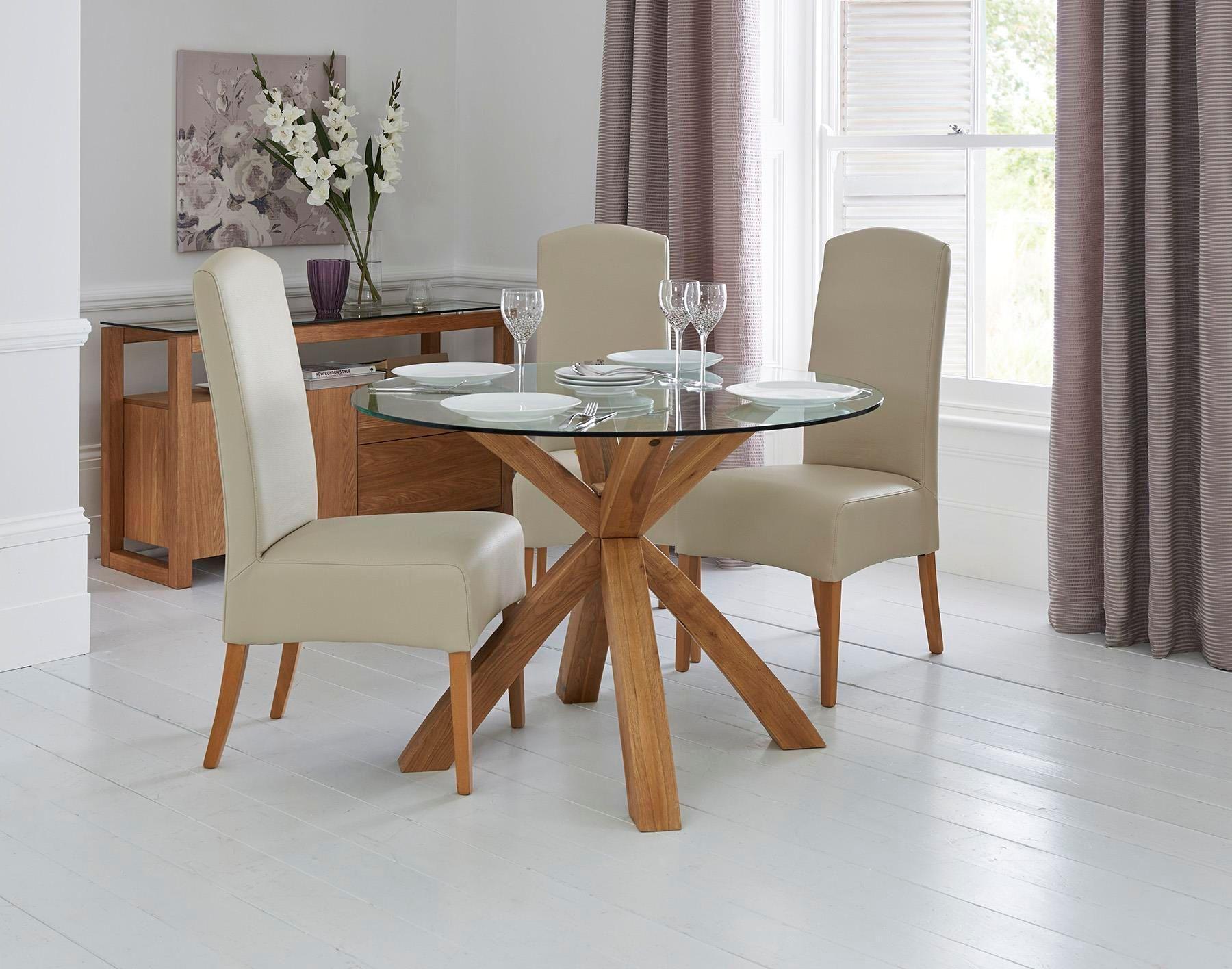 Milano X Glass Wood Coffee Table Oak 135 W X 80 D X 45 H Cm