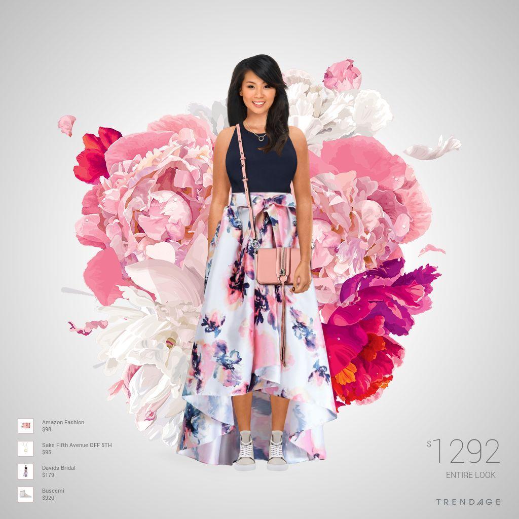 Traje de moda hecho por Luglenis usando ropa de Saks Fifth Avenue ...