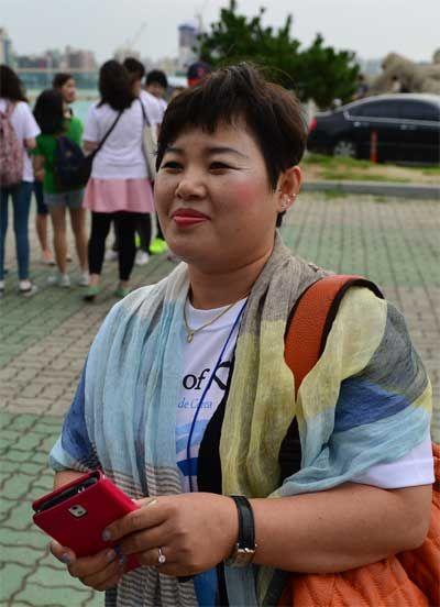 """""""일본에 있는 제 딸에게 독도가 우리나라 땅임을 자신 있게 말할 거예요"""" 기사의 사진"""