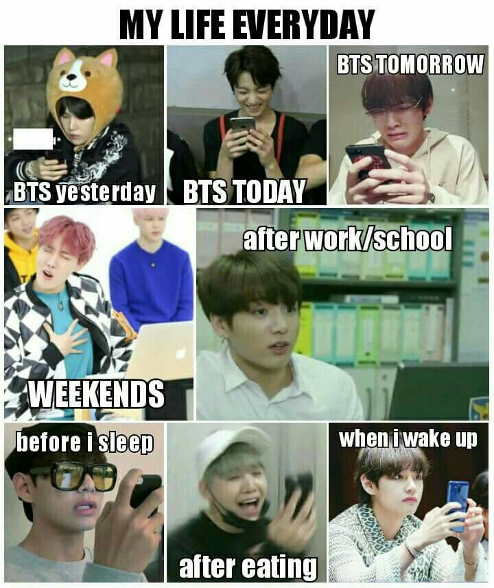 Army Daily Routine Bts Memes Hilarious Bts Funny Kpop Memes Bts
