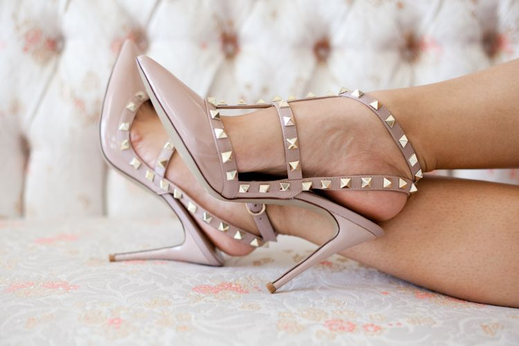 Valentino rockstud shoes, Valentino, Heels