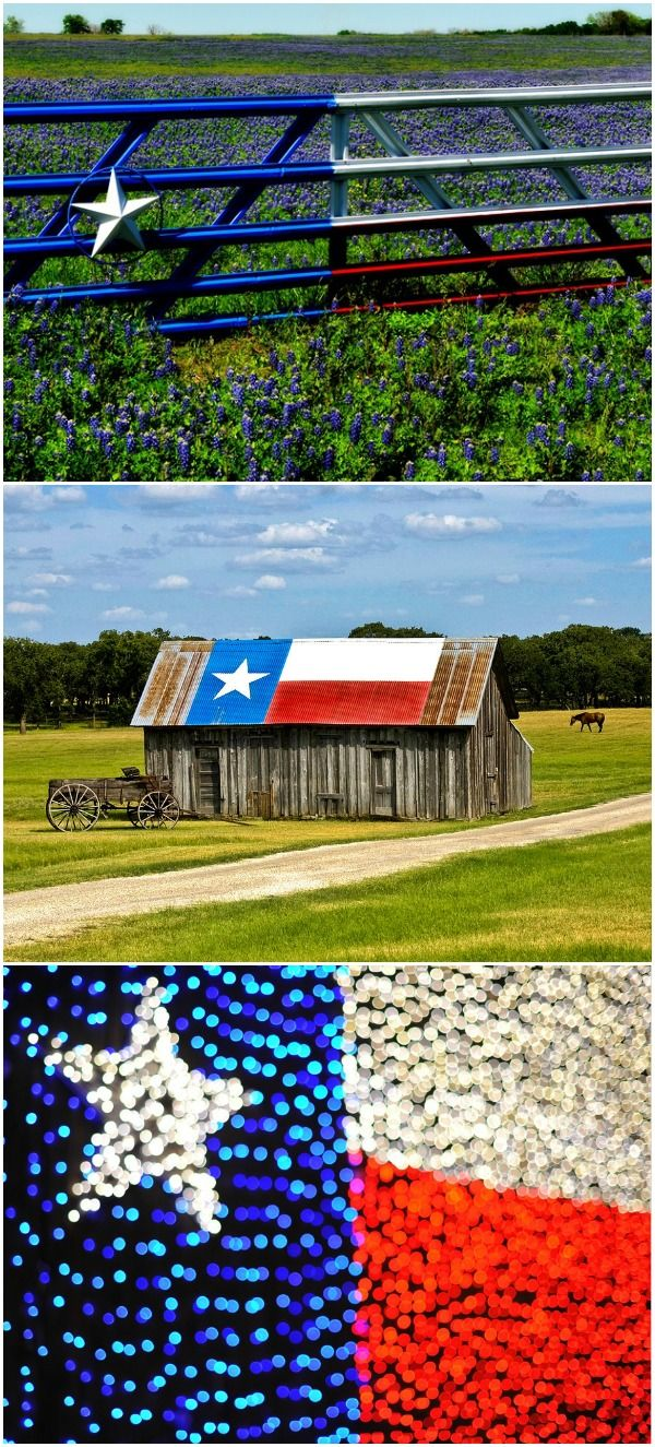 Texas Barn Flag Republic Of Texas Texas Hill Country Texas Travel