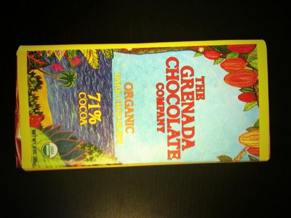 Grenada Chocolate Company organic 71% is light and fruity. Berry notes.