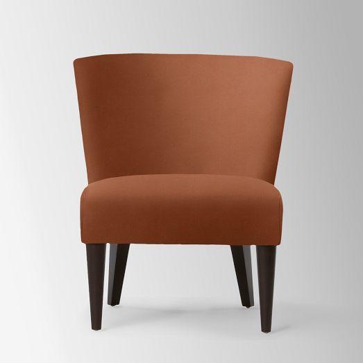 Veronica Taper Leg Chair - Solids   west elm