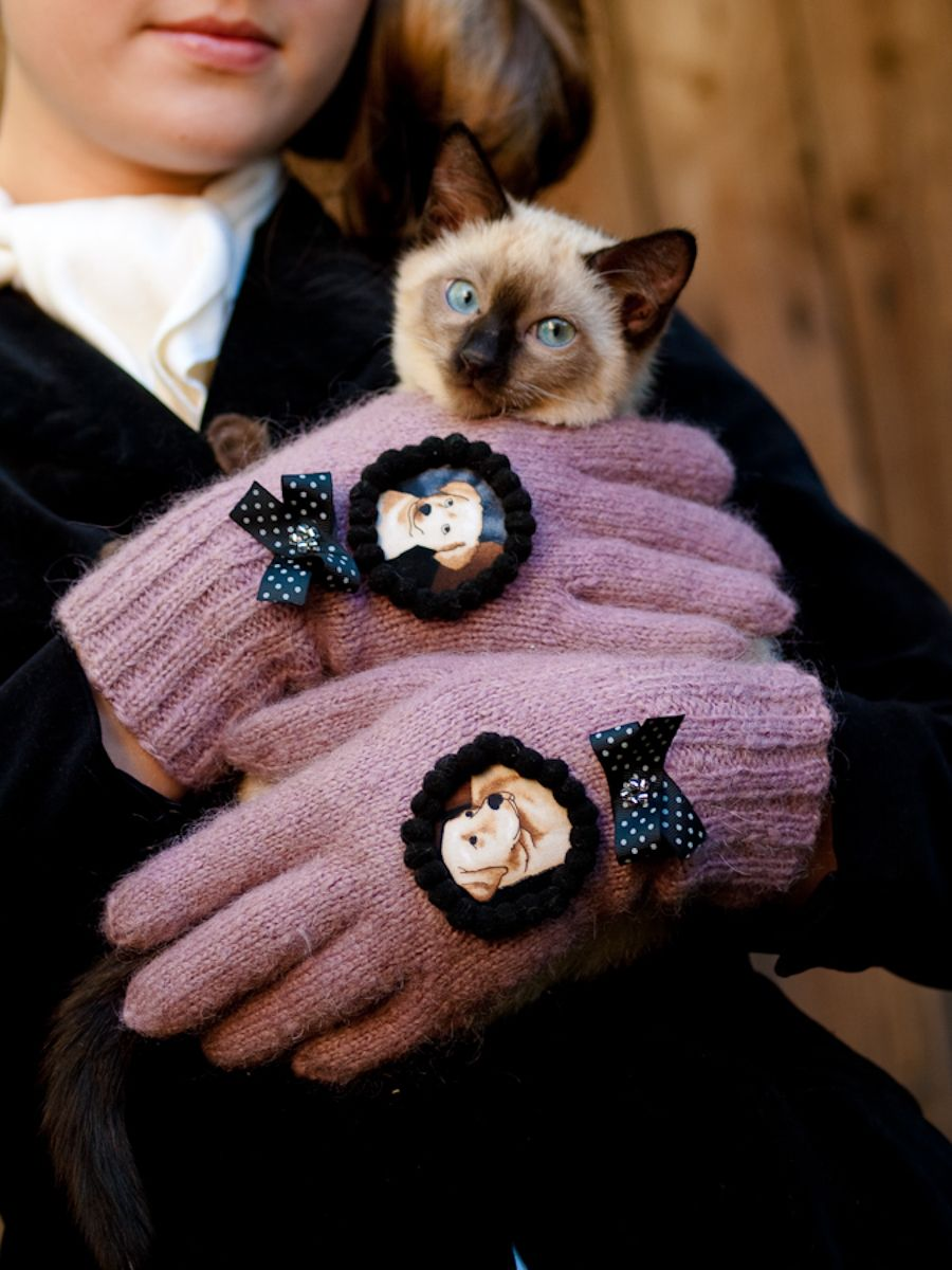 wool gloves www.facebook.com/AnuKaelussooDesign