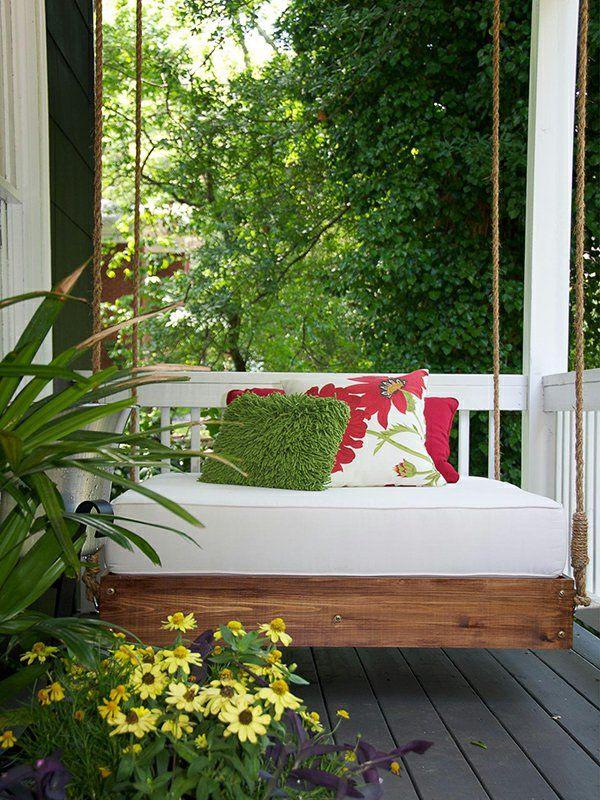 20 DIY Ideen für Hängesessel für eine bessere Entspannung - hängesessel für wohnzimmer
