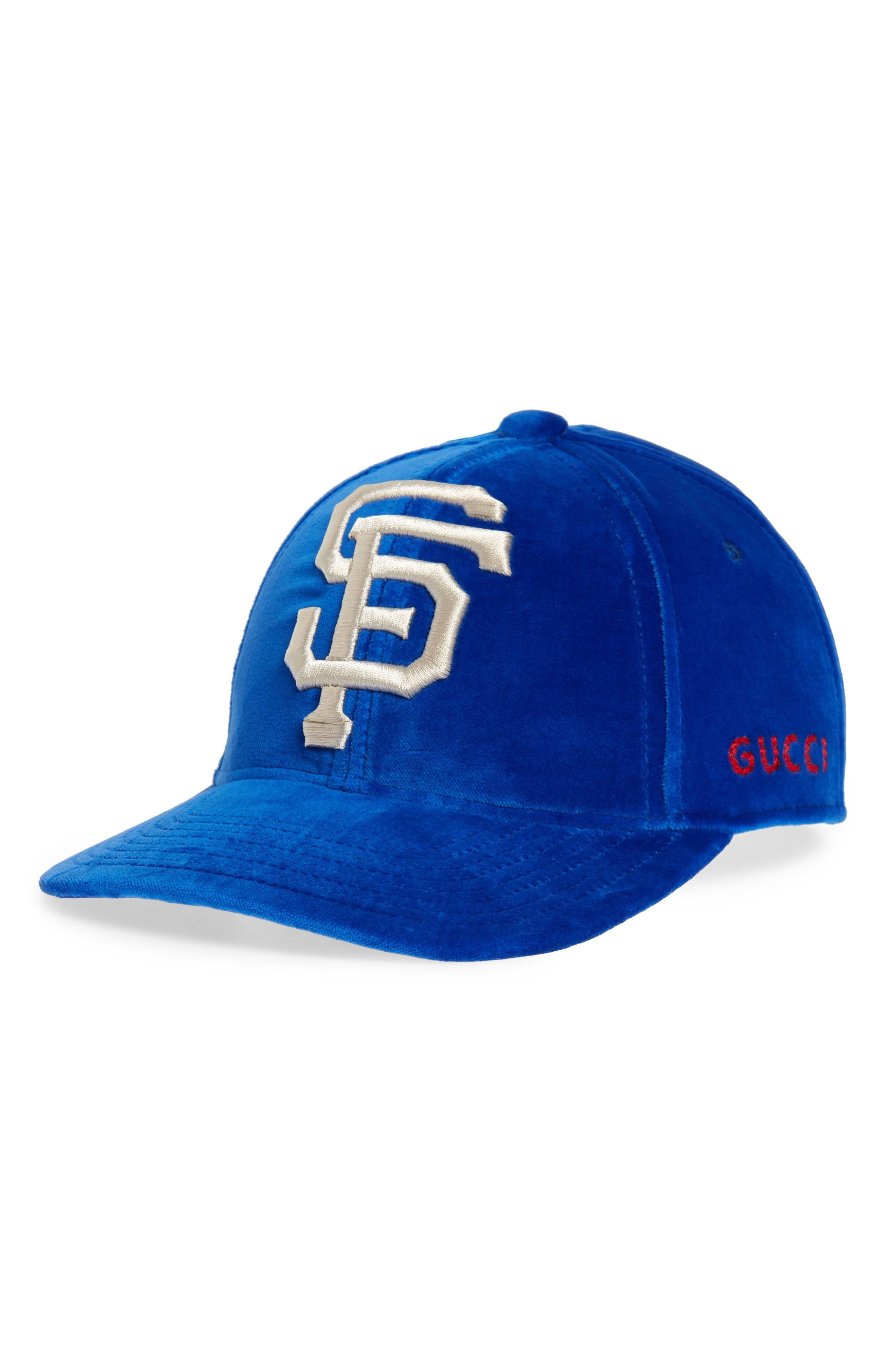 84f34b398c Gucci Velvet Baseball Cap available at #Nordstrom | Sexy Ball Caps ...