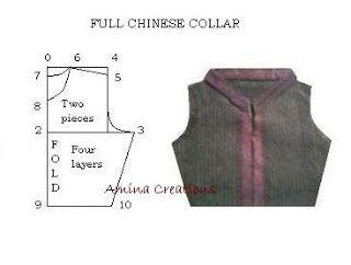 Full Chinese collar