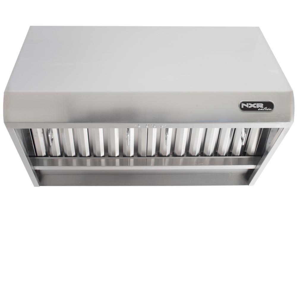 Stainless Steel NXR RH3001 30 Professional Under Cabinet Range Hood