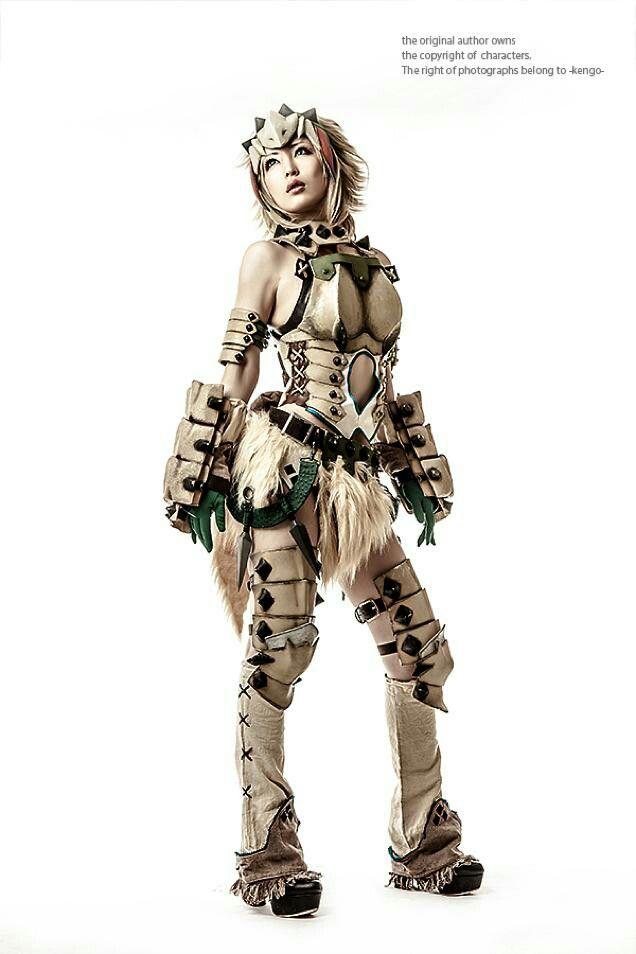 sexy Monster Jäger Mädchen