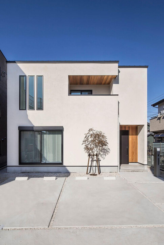 無駄のないシンプルモダンな大空間 施工実績 愛知 名古屋の注文住宅