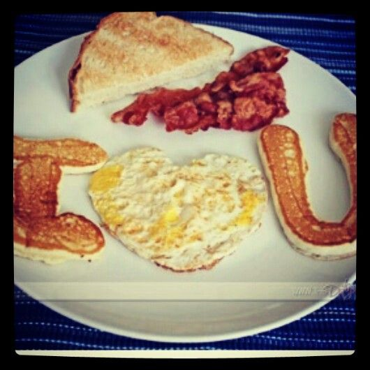 Cute Anniversary Breakfast Idea If We Were Ever Home On Our Anniversary We