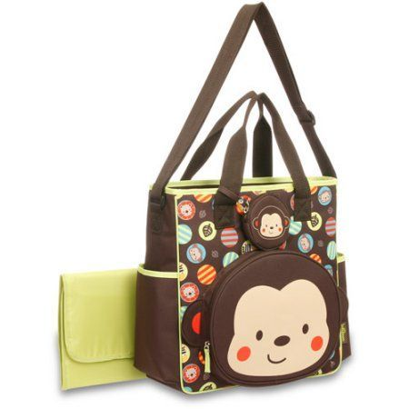 Monkey Diaper Bag From Maybe Use As A Decoration In Some Way And She
