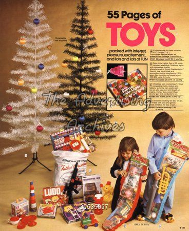 Catalogue/ Brochure Plate Christmas Toys 1970s