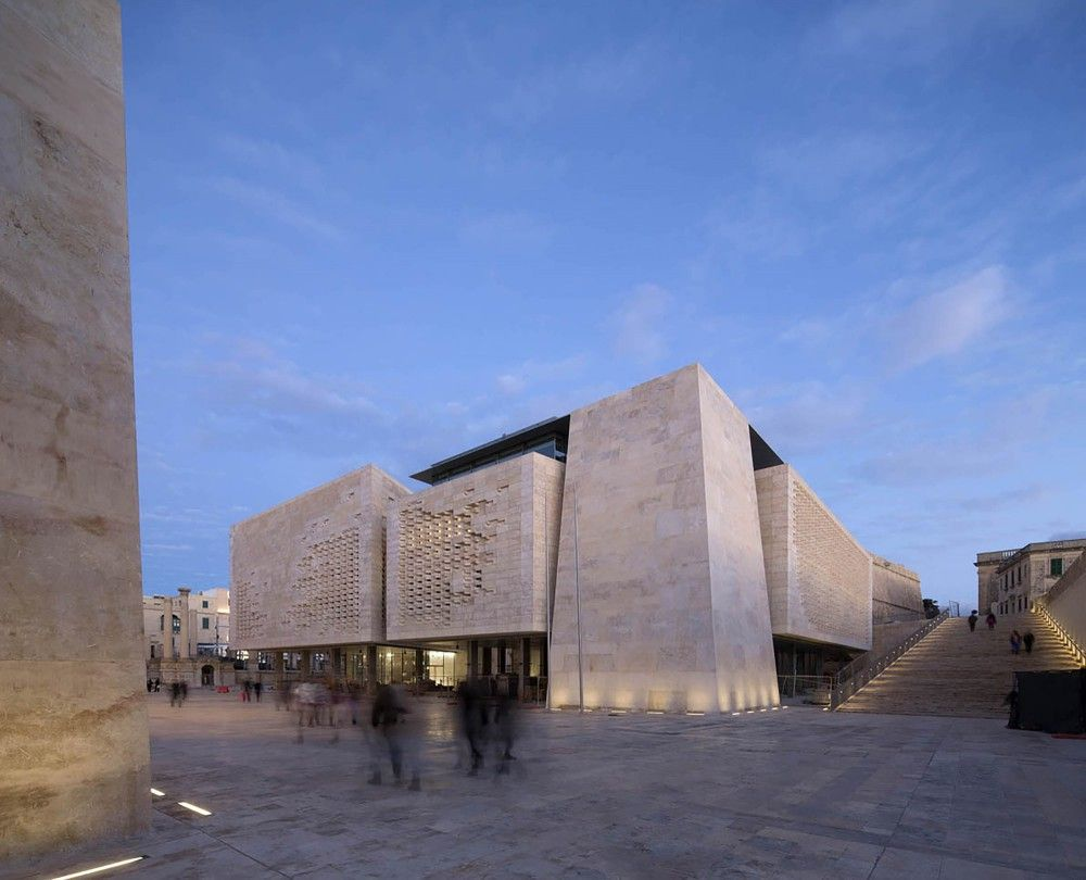 Valletta City Gate  / Renzo Piano Building Workshop