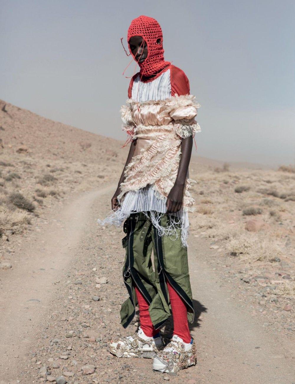 Katie Shillingford | Jackie Nickerson AnOther Magazine SS18 #afrikanischerstil