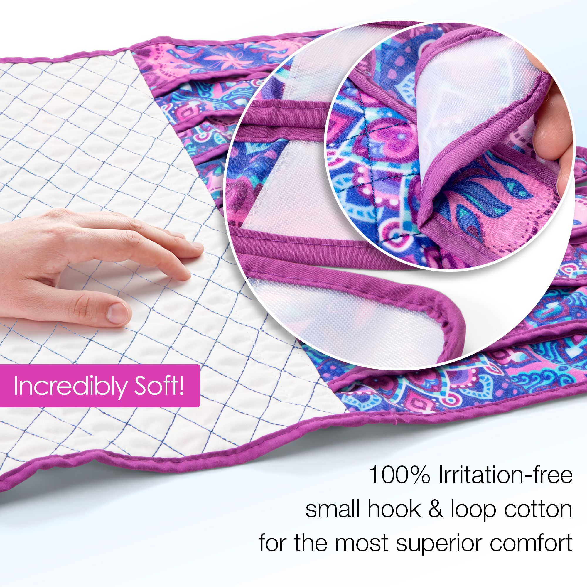 The Unina Postpartum Bengkung Wrap Is Made Of Cotton! It
